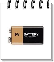 Battery 9V elmag.bg