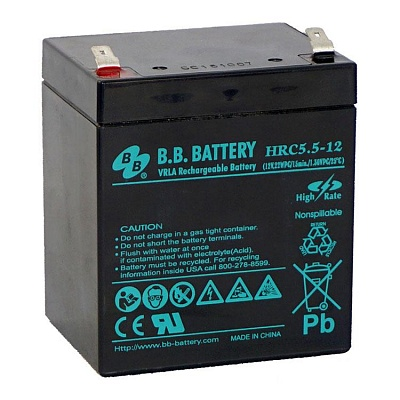 BB battery  12V 5 Ah