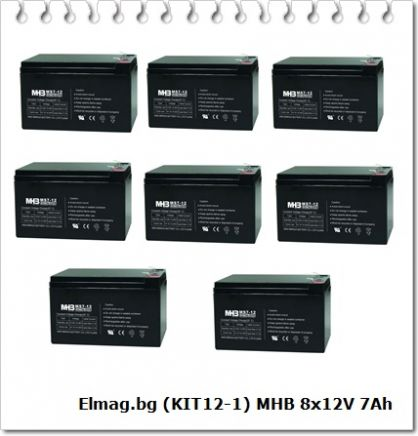 KIT21 CSB-12V 12Ah 4pcs