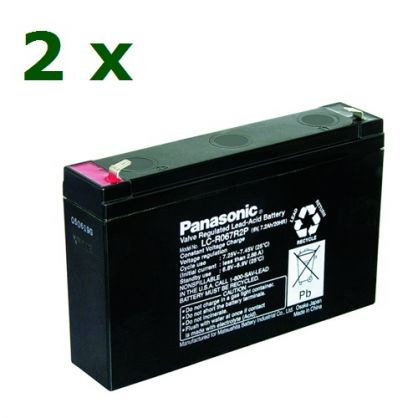 KIT26Panasonic ( 2 х 6V / 7.2Ah F2 )