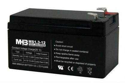 Оловни акумулаторни батерии MHB MS1.3-12 - 12V / 1.3Ah