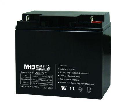 Оловни акумулаторни Батерии MHB MS18-12 12V 18Ah