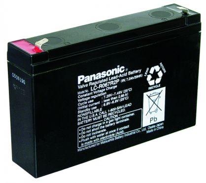 Panasonic - LC-R067R2P - 6V/7,2Ah