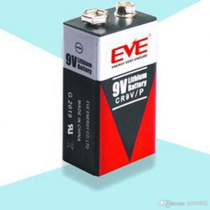 EVE CR 9V /MN 1604; 6LR61AD/ - 9V / 680 mAh