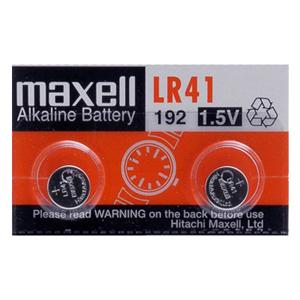 MAXELL LR-41 /AG3; 192/ - 1.5V
