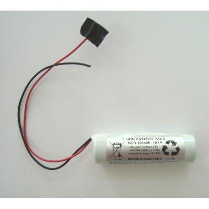 PANASONIC NCR-18650B / 1s1p - 3.6V / 3400 mAh