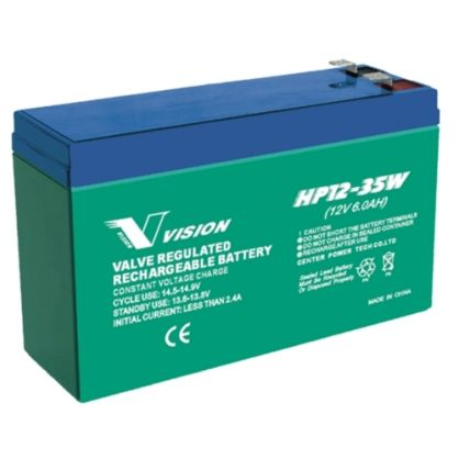 VISION 12V 6Ah / HP12-35W F1/F2