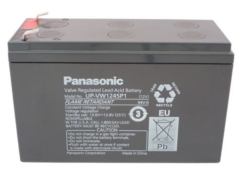 Panasonic UP-RW1245P1 12V 9Ah