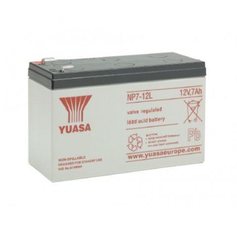 Yuasa NP7-12L 7Ah 12V F2