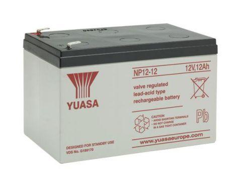 Yuasa NP12-12 - 12V 12Ah F2