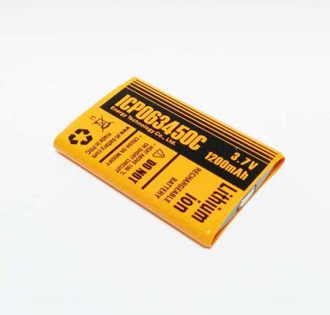 Li-Pol LP655165 - 3.7V 2400mAh PCB
