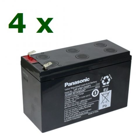 "Батерии ""KIT24-1"" Panasonic-12V 9Ah 4бр"