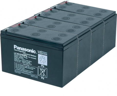 "Батерии ""KIT8-2"" Panasonic-12V 7Ah 4бр"