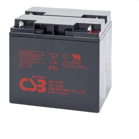 KIT12 CSB ( 2 х CSB-GP12120 - 12V /  12Ah  )