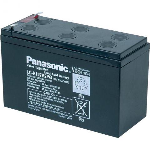 Panasonic - LC-R127R2PG - 12V 7.2Ah