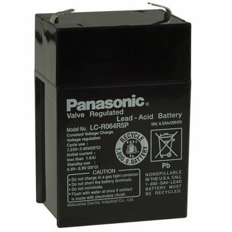 Panasonic   6V 4,5Ah
