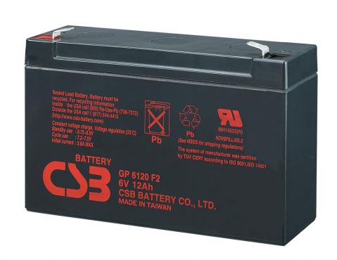 CSB-GP6120 6V / 12Ah