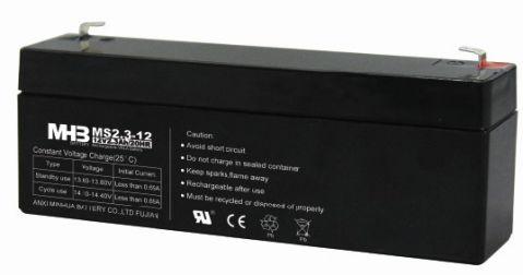 Оловни акумулаторни батерии MHB-MS2.3-12  - 12V / 2.3Ah