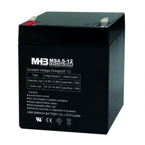 Оловни акумулаторни батерия MHB -MS 4,5-12 12V 4.5Ah