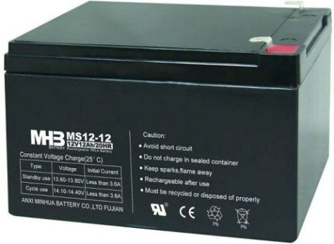 Оловни акумулаторни батерии MHB-MS12-12 - 12V / 12 Ah