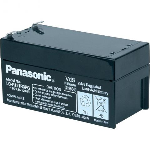 Panasonic 12 V 1.3 Ah