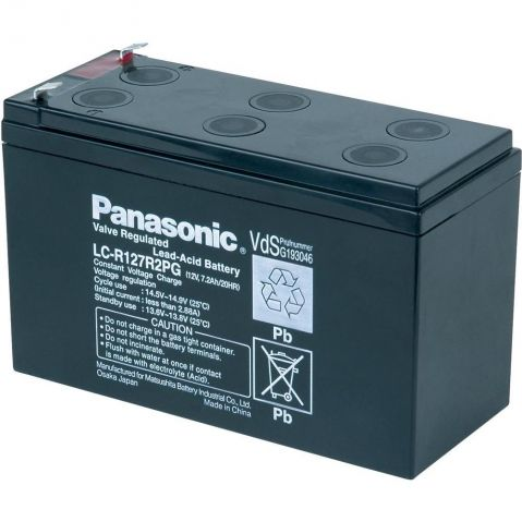 Panasonic 12V 7.2Ah F1
