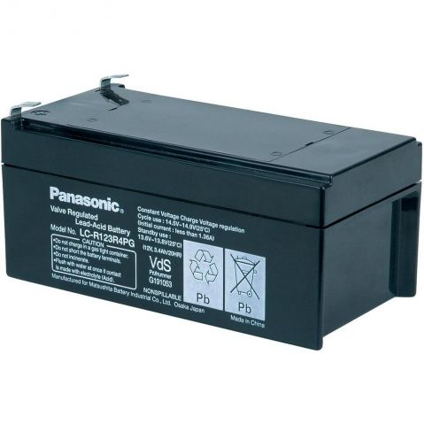 Panasonic   12V 3.4Ah