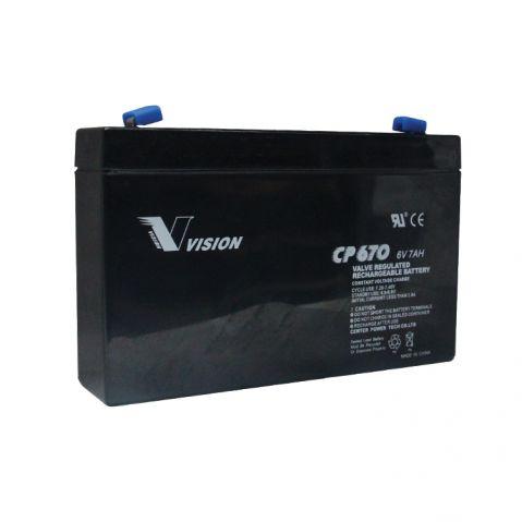 VISION 6V 7Ah / CP670