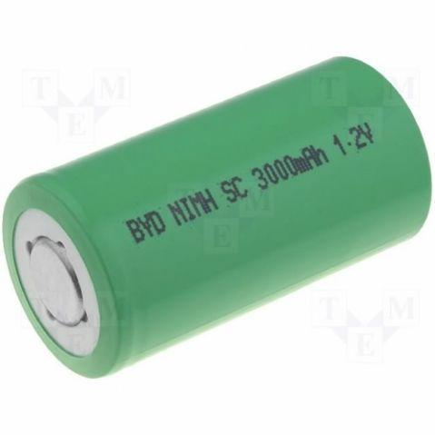 BYD BH-3000 SC - 1,2V / 3000 mAh