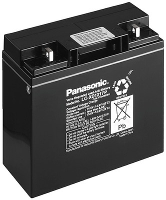 Panasonic LC-XD1217PG  12V 17Ah