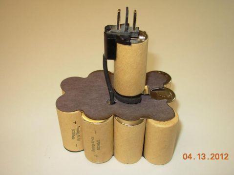 9.6V 2500mAh пакет батерия за винтоверт