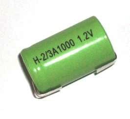 BYD BH-1000 2/3A - 1.2V / 1000 mAh