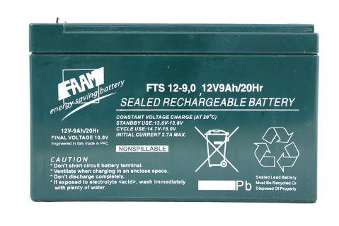 FAAM FTS 12-9.0 - 12V 9Ah F2