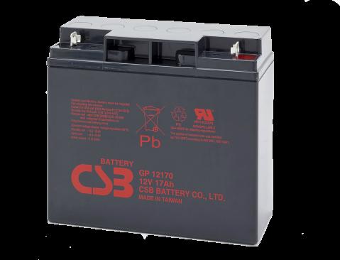 Elmag.bg baterii CSB-GP12170-12V 17Ah