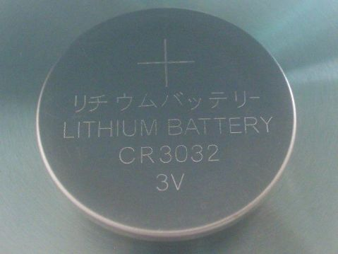 CHINA CR-3032 - 3V / 500 mAh