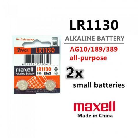 MAXELL LR-1130 /LR-54; AG10; 189/ - 1.5V