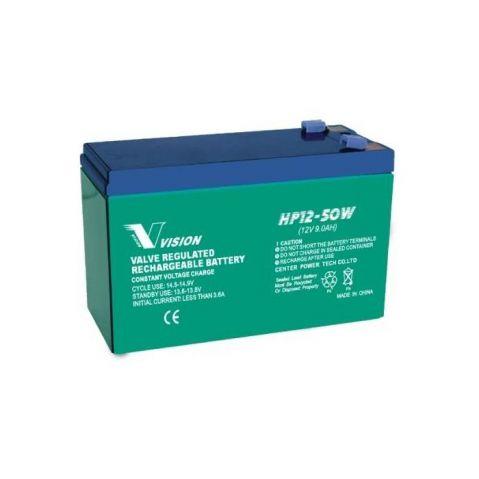 VISION 12V 9Ah / HP12-50W F2